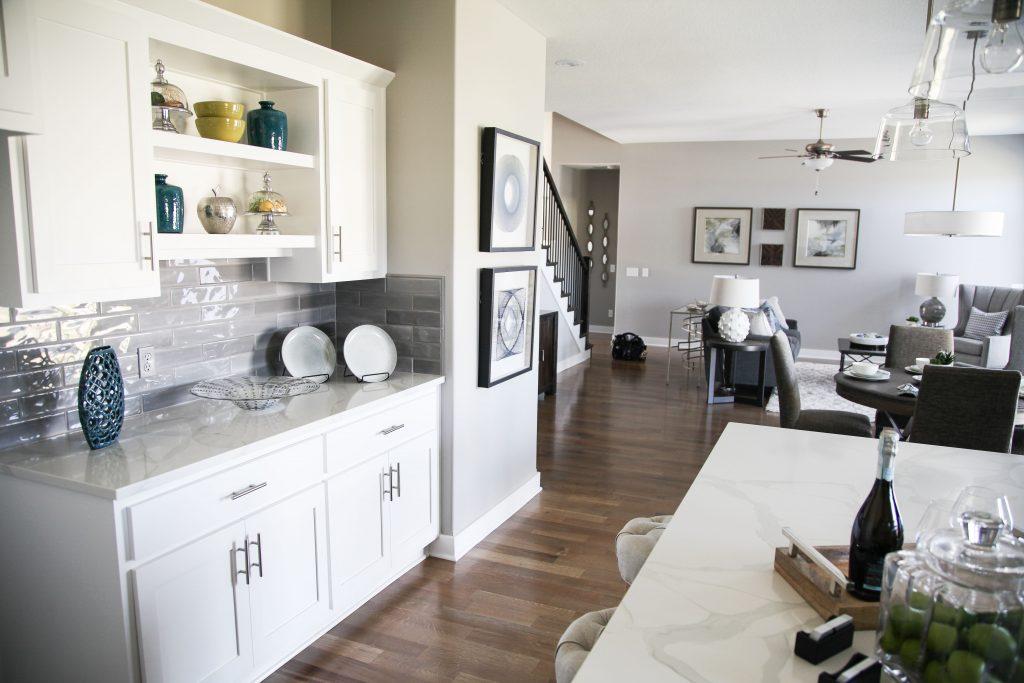 Open Floor Plan Decorating Ideas - SRS Design - North Kansas ...